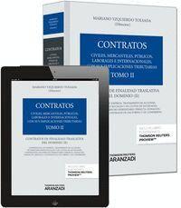 TOMO II. CONTRATOS DE FINALIDAD TRASLATIVA DEL DOMINIO II (PAPEL + E-BOOK) CONTRATOS DE FINALIDAD TR