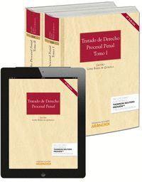 TRATADO DE DERECHO PROCESAL PENAL (2 TOMOS) (PAPEL + E-BOOK)