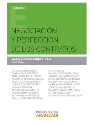 NEGOCIACIÓN Y PERFECCIÓN DE LOS CONTRATOS