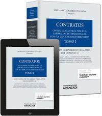 TOMO I. CONTRATOS DE FINALIDAD TRASLATIVA DEL DOMINIO I (PAPEL + E-BOOK)