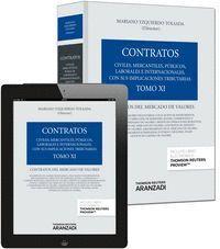 TOMO XI. CONTRATOS DEL MERCADO DE VALORES (PAPEL + E-BOOK)