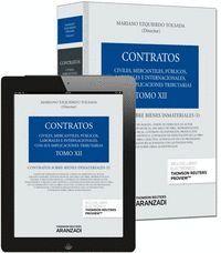 TOMO XII. CONTRATOS SOBRE BIENES INMATERIALES (PAPEL + E-BOOK) CONTRATOS SOBRE BIENES INMATERIALES (