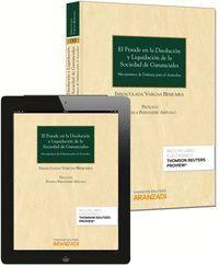 EL FRAUDE EN LA DISOLUCIÓN Y LIQUIDACIÓN DE LA SOCIEDAD DE GANANCIALES (PAPEL + E-BOOK) MECANISMOS D