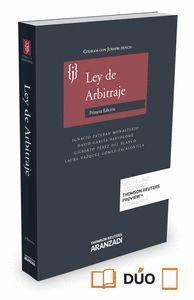 LEY DE ARBITRAJE CON JURISPRUDENCIA (PAPEL + E-BOOK) CODIGOS CON JURISPRUDENCIA