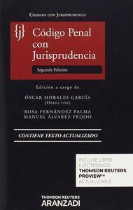 CÓDIGO PENAL CON JURISPRUDENCIA (PAPEL + E-BOOK)