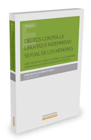 DELITOS CONTRA LA LIBERTAD E INDEMNIDAD SEXUAL DE LOS MENORES