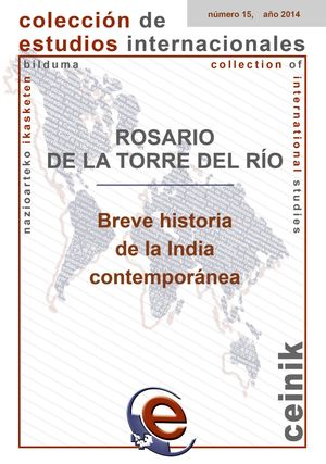 BREVE HISTORIA DE LA INDIA CONTEMPORÁNEA