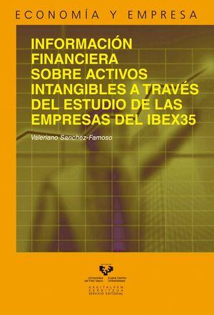 INFORMACIÓN FINANCIERA SOBRE ACTIVOS INTANGIBLES A TRAVÉS DEL ESTUDIO DE LAS EMPRESAS DEL IBEX35