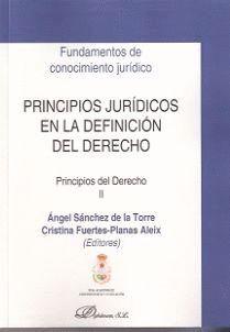 PRINCIPIOS JURÍDICOS EN LA DEFINICIÓN DEL DERECHO