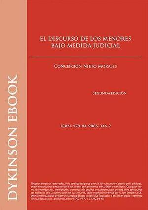 DISCURSO DE LOS MENORES BAJO MEDIDA JUDICIAL