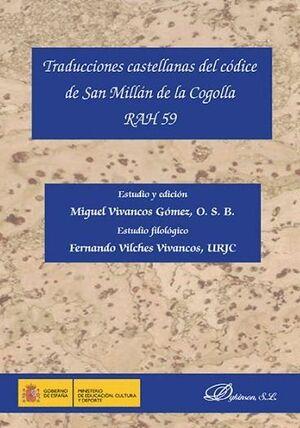 TRADUCCIONES CASTELLANAS DEL CÓDICE DE SAN MILLÁN DE LA COGOLLA RAH 59