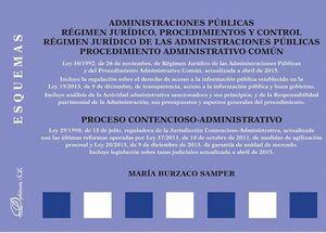 ADMINISTRACIONES PÚBLICAS. RÉGIMEN JURDICO, PROCEDIMIENTOS Y CONTROL. RÉGIMEN JURDICO DE LAS ADMIN