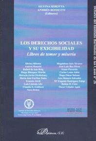LOS DERECHOS SOCIALES Y SU EXIGIBILIDAD. LIBRES DE TEMOR Y MISERIA