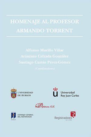 HOMENAJE AL PROFESOR ARMANDO TORRENT