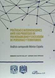 POLTICAS E INTERVENCIONES ANTE LOS PROCESOS DE VULNERABILIDAD Y EXCLUSIÓN DE PERSONAS Y TERRITORIOS