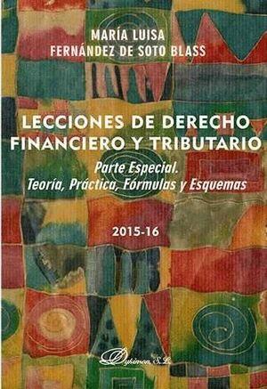 LECCIONES DE DERECHO FINANCIERO Y TRIBUTARIO. PARTE ESPECIAL