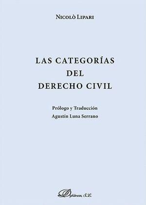 LAS CATEGORAS DEL DERECHO CIVIL