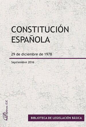CONSTITUCIÓN ESPAÑOLA. 29 DE DICIEMBRE DE 1978