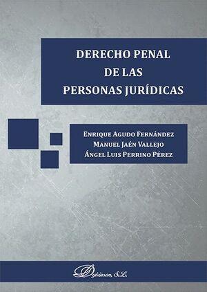 DERECHO PENAL DE LAS PERSONAS JURÍDICAS