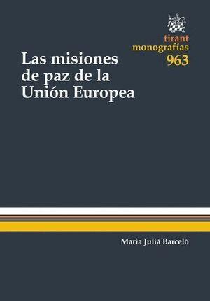 LAS MISIONES DE PAZ DE LA UNIÓN EUROPEA