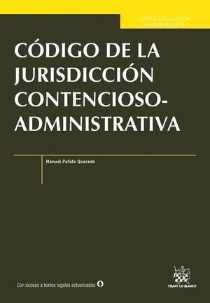 CÓDIGO DE LA JURISDICCIÓN CONTENCIOSO-ADMINISTRATIVA