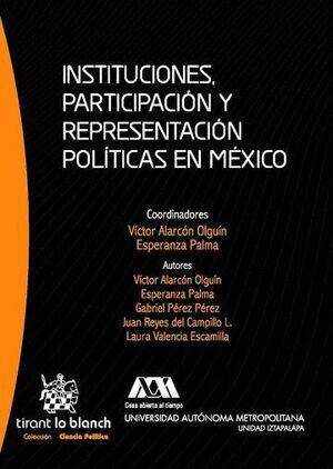 INSTITUCIONES, PARTICIPACIÓN Y REPRESENTACIÓN POLÍTICAS EN MÉXICO