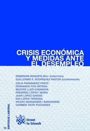CRISIS ECONÓMICA Y MEDIDAS ANTE EL DESEMPLEO