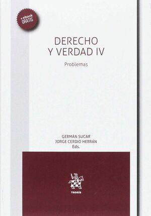 DERECHO Y VERDAD IV PROBLEMAS