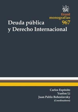 DEUDA PÚBLICA Y DERECHO INTERNACIONAL