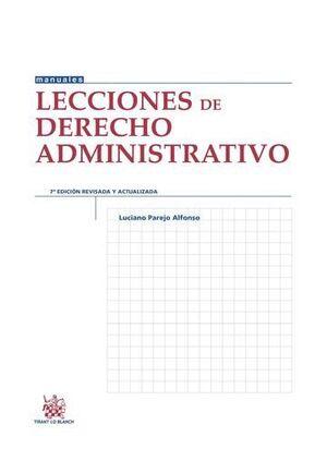 LECCIONES DE DERECHO ADMINISTRATIVO 7ª EDICIÓN 2014