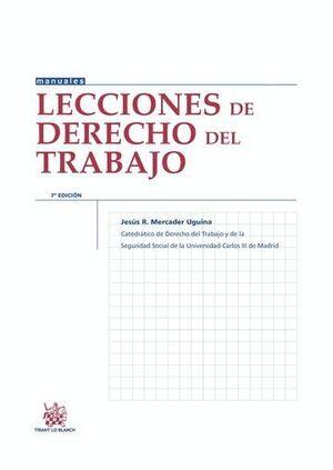 LECCIONES DE DERECHO DEL TRABAJO 7ª EDICIÓN 2015