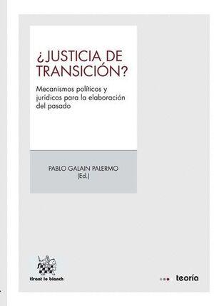 ¿JUSTICIA DE TRANSICIÓN?