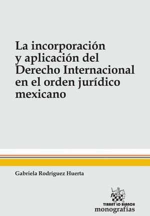 INCORPORACIÓN Y APLICACION DEL DERECHO INTERNACIONAL EN EL ORDEN JURIDICO MEXICANO