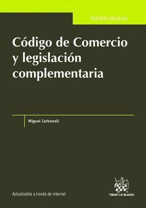 CÓDIGO DE COMERCIO Y LEGISLACIÓN COMPLEMENTARIA
