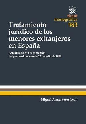 TRATAMIENTO JURDICO DE LOS MENORES EXTRANJEROS EN ESPAÑA