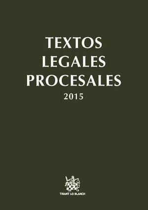 PACK TEXTOS LEGALES PROCESALES 2015