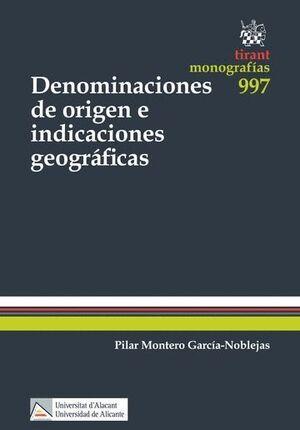 DENOMINACIONES DE ORIGEN E INDICACIONES GEOGRÁFICAS