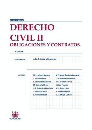 DERECHO CIVIL II 3ª EDICIÓN 2015 OBLIGACIONES Y CONTRATOS