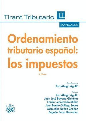 ORDENAMIENTO TRIBUTARIO ESPAÑOL : LOS IMPUESTOS