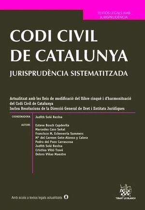CODI CIVIL DE CATALUNYA JURISPRUDÈNCIA SISTEMATITZADA