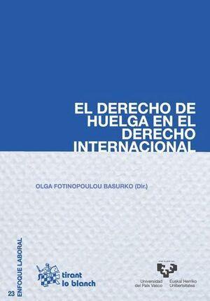 EL DERECHO DE HUELGA EN EL DERECHO INTERNACIONAL