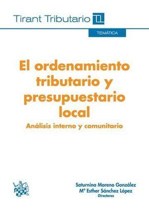 EL ORDENAMIENTO TRIBUTARIO Y PRESUPUESTARIO LOCAL