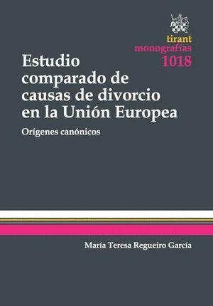 ESTUDIO COMPARADO DE CAUSAS DE DIVORCIO EN LA UNIÓN EUROPEA