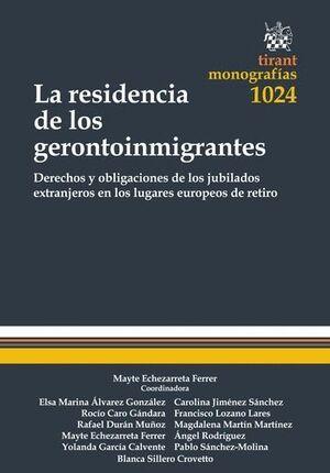 LA RESIDENCIA DE LOS GERONTOINMIGRANTES