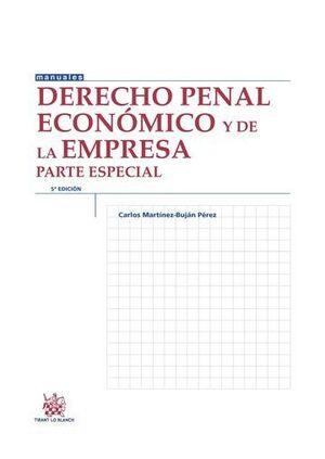 DERECHO PENAL ECONÓMICO Y DE LA EMPRESA PARTE ESPECIAL 5ª EDICIÓN 2015