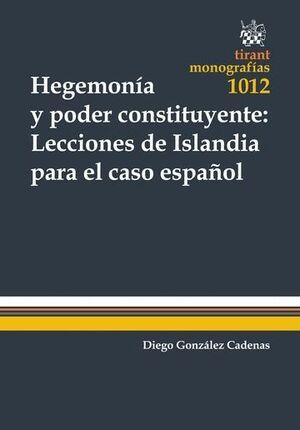 HEGEMONÍA Y PODER CONSTITUYENTE: LECCIONES DE ISLANDIA PARA EL CASO ESPAÑOL