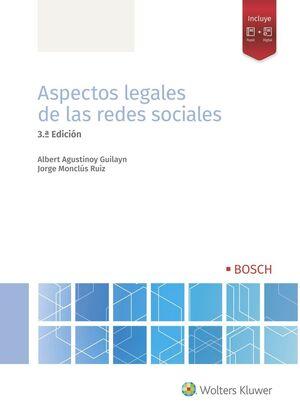 ASPECTOS LEGALES DE LAS REDES SOCIALES (3.ª EDICIÓN)