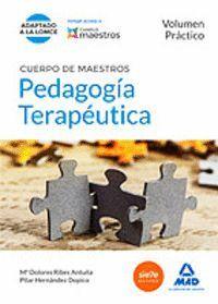 CUERPO DE MAESTROS PEDAGOGÍA TERAPÉUTICA. VOLUMEN PRÁCTICO