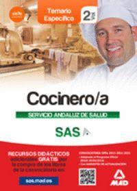 COCINERO/A DEL SERVICIO ANDALUZ DE SALUD. TEMARIO ESPECÍFICO  VOLUMEN 2