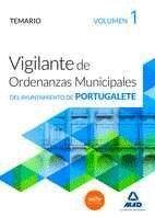 VIGILANTES DE ORDENANZAS MUNICIPALES DEL AYUNTAMIENTO DE PORTUGALETE.